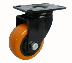 Medium Duty Casters Black Yoke